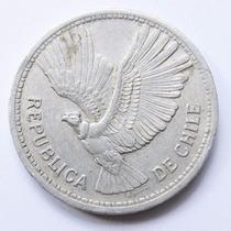 Moeda Chile 1958 10 Pesos 1 Condor
