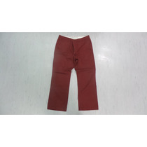 Dockers Pantalon 38 X 32 Drill Color Vino