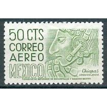 Sc C287 Año 1964 Chiapas Bonampak Bajo Relieve De Una Estela