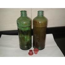 Botellas Antiguas De Procenex Con Tapa.-