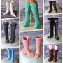 Bota * Sapato Para Barbie * Sapatinho Lindos Modelo (1 Par)