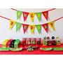 Cumpleaños Angry Birds Deco Impresa Y Recortada