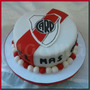 Torta Fútbol River Plate