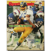 Sports Ilustred Chuck Muncie Ron Jaworski 1981