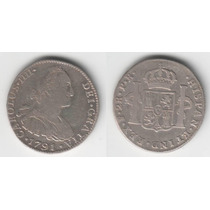 Guardia Imp. Potosi Bolivia 2 Reales 1791 P. R. Hermosa