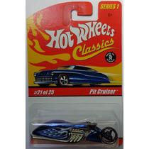 Hot Wheels Classics Pit Cruiser Moto Azul