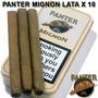 Cigarros Panter Mignon- Hechos En Holanda-lata X 10 Unid.