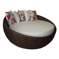 Chaise Concha Sofá Em Fibra Sintética Poltrona Em Fibras