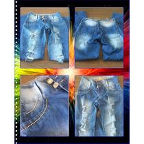 Calça Jeans Feminina, Estilo, Rasgos, Mesclada