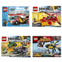 Lego Ninjago-city-marvel 70722-70721-60002-76019