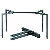 Mesa Stand Plegable Para Dj O Consolas Quiklok Ws-550
