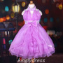 Vestido Infantil Festa, Princesa Rapunzel, Florista, Daminha