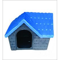 Casa Plástica Para Cães Bangalo Azul N°2 Pet Hobby