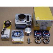 Kit Cilindro Biela Rolamento Ybr/factor125 Xtz125 Metal Leve