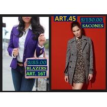 Blusas ,,sacos,sacones ,chaquetas,faldas De Mujer