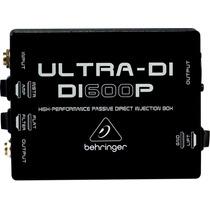 Caja Directa Para Guitarra Y Bajo Behringer Di600p