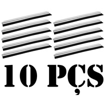 Kit C/ 10 Pçs Veda Porta 90cm Rodo Vedante Alumínio E Borrac