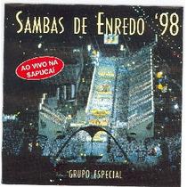 Cd-sambas De Enredo Do Rj-98-ao Vivo Na Sapucaí