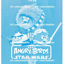 Star Wars Calcomanias - Angry Bids Stickers