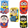 Funda Silicona Samsung S3 S4 S5 Mini Pocket Minion Y Supers