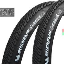 Par Cubiertas Michelin Rock 26 X 1.75 Ideal Ciudad Bicicleta
