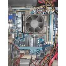 Combo Mother Gigabyte 78lmt+micro Amd965blackedition+ram4gb