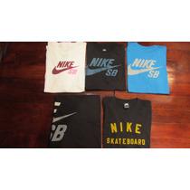 Remeras Nike Sb Dri Fit S M L Xl Xxl - Skate Originales Usa