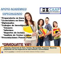 Apoyo Académico Y Asesorías Para Licenciaturas En Línea