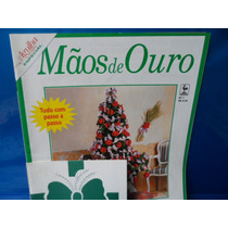 Revista Mãos De Ouro Numero 1 Artesanato De Natal Presépio