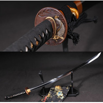 Espada Katana Samurai Afiada Forjada Corte Aço T10 Original