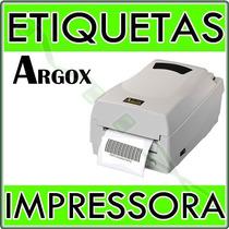 Impressora Térmica De Etiquetas E Barras Argox Os 214 Plus