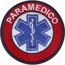Estrella De La Vida 4 Parche Bordado Paramedico Militar