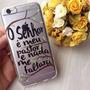 Case Capinha Personalizadas Iphone 4/5/6 Versiculo Da Bíblia