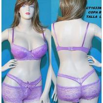Conjuntos Intimos Moda Brasier Y Panty,bikini,cachetero,hilo