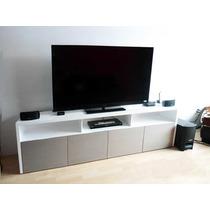 Centro De Entretenimiento Mod. Belice Muebles Tv De Sala