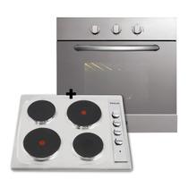 Combo Cocina Anafe + Horno Domec Electrico C/ Envio Gratis