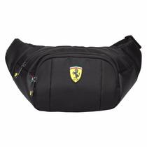 Cangurera Ferrari Original 100% Acojinada Para Viaje Trabajo