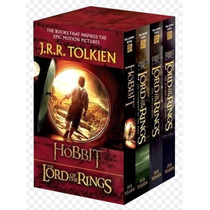 The Hobbit And The Lord Of The Rings Set 4 Libros Nuevos!!
