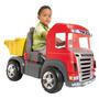 Mini Veiculo Caminhao Truck Pedal Vermelho Magic Toys