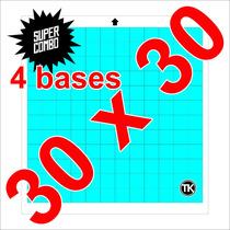 4 Bases De Corte P/ Silhouette Cameo 30x30 Com Frete Grátis!