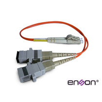 Enson Convertidor Fibra Optica Duplex Sc A Lc Multimodo