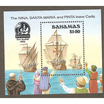 Hojita De Bahamas Nueva Barcos Descubrimiento De América
