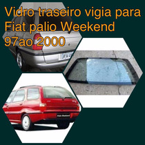 Vidro Traseiro Vigia Palio Weekend 97 Ao 2000