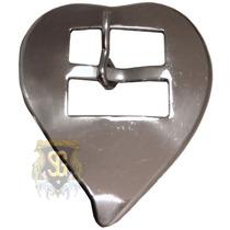 Fivela Coração Inox 4788
