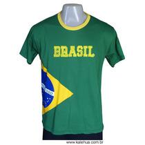 Camiseta Bandeira Do Brasil