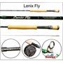 Vara Pesca Para Fly Sumax Lenix #6/7 3 Partes Carbono Im 11