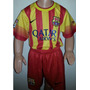 Conjunto Niño Barsa De España Alt Neymar Messi Talla 12