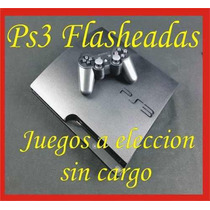 Ps3 160gb Flashada Regalos A Eleccion - Discos Externos