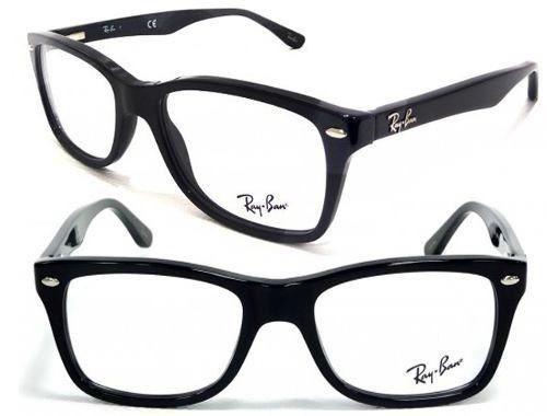300d50d6be7c6 Armação De Óculos De Grau Sol Rayban Rb 5228 Sem Veludo - R  42