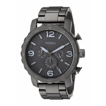 Reloj Fossil Nate Jr1401 Para Caballero Correa De Acero Inox